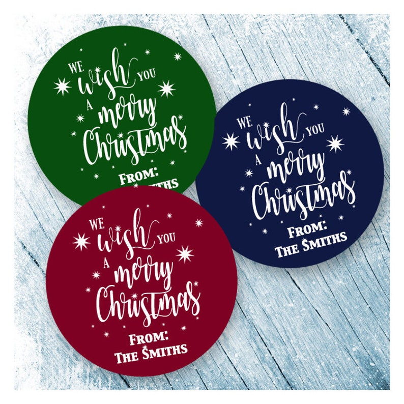 Merry Christmas Labels.Merry Christmas Labels Merry Christmas Stickers Happy Holiday Labels Happy Holidays Stickers Christmas Card Seals Gift Stickers