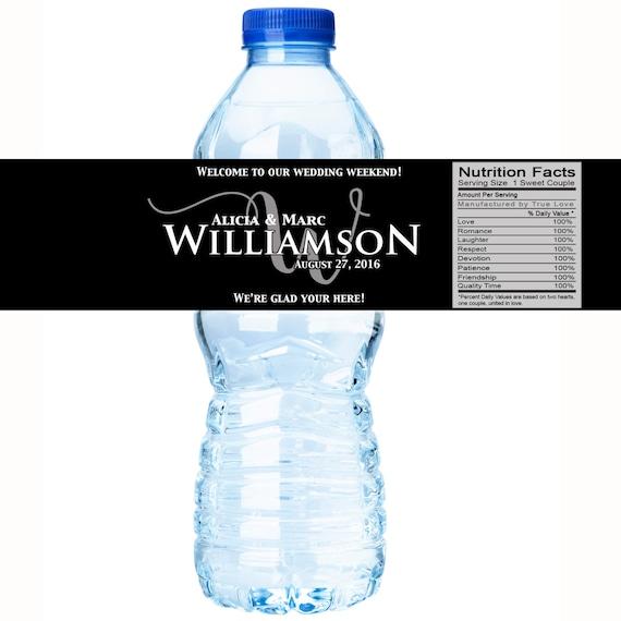 Bottle Labels Wedding Decor Welcome Box Labels 30 Wedding Water Bottle Labels Chevron Wedding Labels Chevron Bridal Shower
