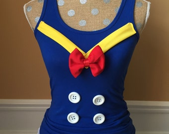 Don the Duck Sailor Inspired Running Top ONLY