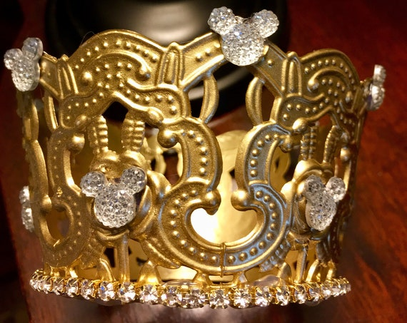 Mickey crown centerpiece, Mickey birthday centerpiece, Disney wedding centerpiece, Disney birthday centerpiece, Disney sweet 16 decorations