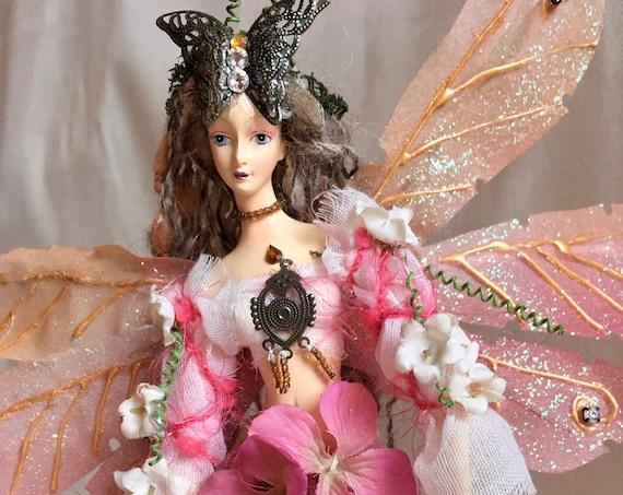 PINK ENCHANTED FAIRY, Enchanted Garden Fairy, Enchanted Sweet 16, Enchanted Bridal Shower, Enchanted Birthday, Enchanted Wedding, Fairies