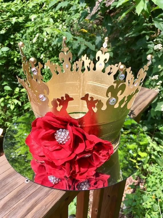 Crowns, crown centerpieces, princess decorations, royal wedding centerpieces, cinderella decorations, royal birthday centerpieces,
