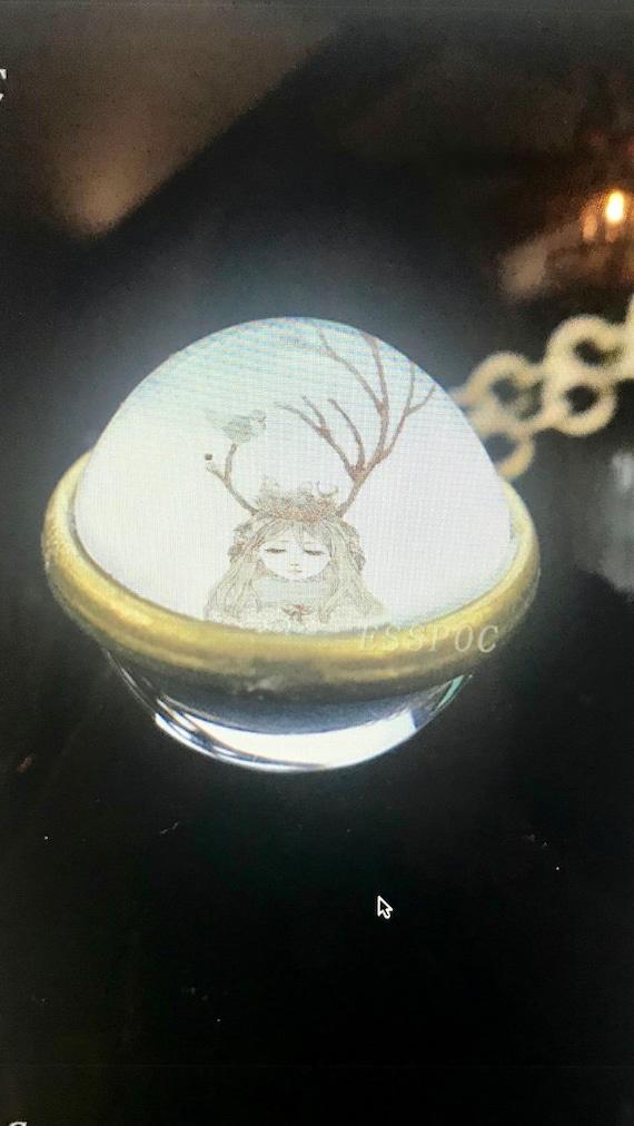 WINTER FAIRY NECKLACE, Winter Fairy Pendant, Winter Fairy Jewelry, Fairy Lovers Gift, Fairy Lovers Jewelry, Fairy Lovers Pendant, Fairytale