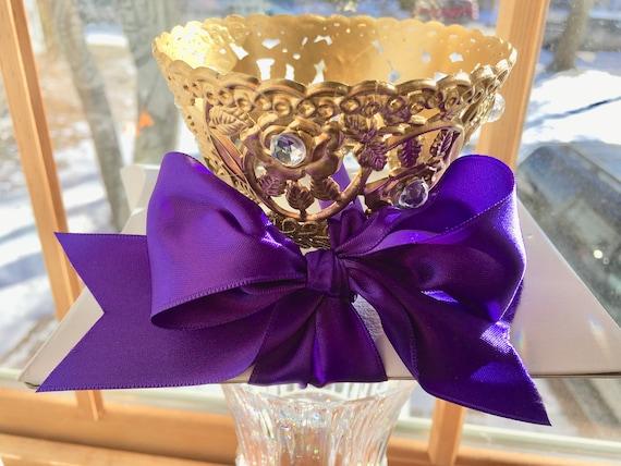 4pc CROWN GIFT BOX, Crown Favor Box, Crown Gift Boxes, Chocolate Box, Candy Display Box, Gift Card Box, Bridal Party Gift Box, Sweet 16