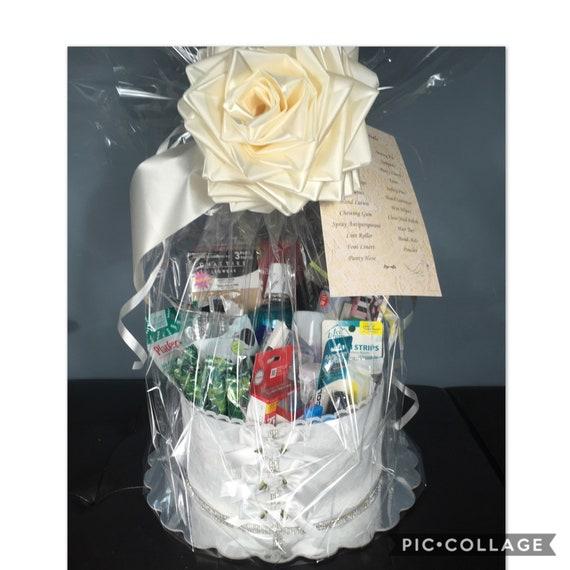 BRIDE ESSENTIALS BASKET, Wedding Day Essentials, Wedding Day Basket, Bridal Shower Gift, Bride-to-be Gift, Wedding Essentials, Reception