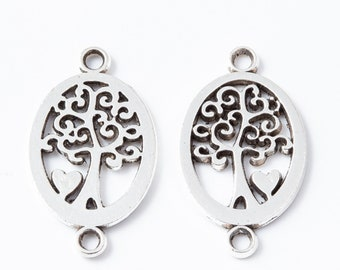 10Pcs Halloween Skull Beads Tibetan Silver Charms Jewelry Pendant Diy Findib KW