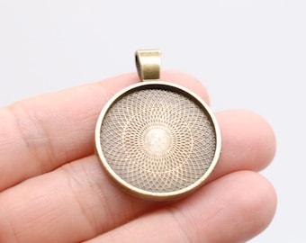 Fashion West Virgini U.S.State Cabochon Glass Tibetan silver Pendant Necklace WV