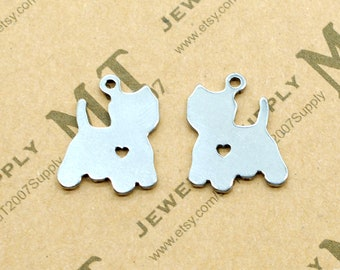 Memorial Charms Supply 20PCS//Bulk Sale Silver Tone MOON Charm Connector CC03