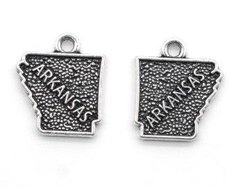State Charms Arkansas Charming Style Handmade Earrings