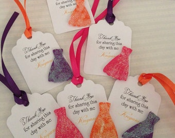 Fashion Show Gift Tags --- Gift Tags