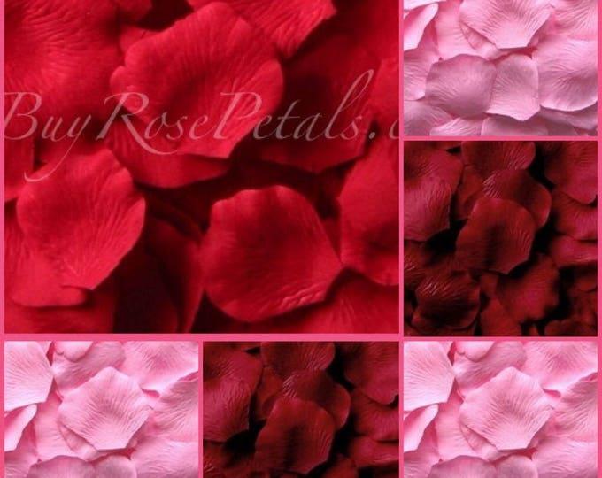 3,000 Romance Silk Rose Petals - Valentine's Day