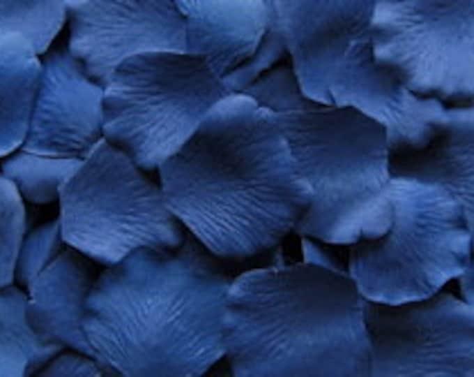 Blueberry Silk Rose Petals - 500 Rose Petals