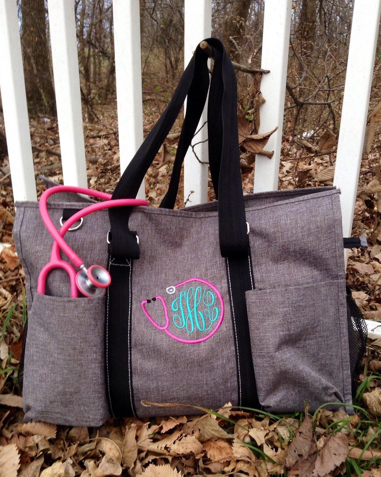 Organizer Tote Bag For Nurses