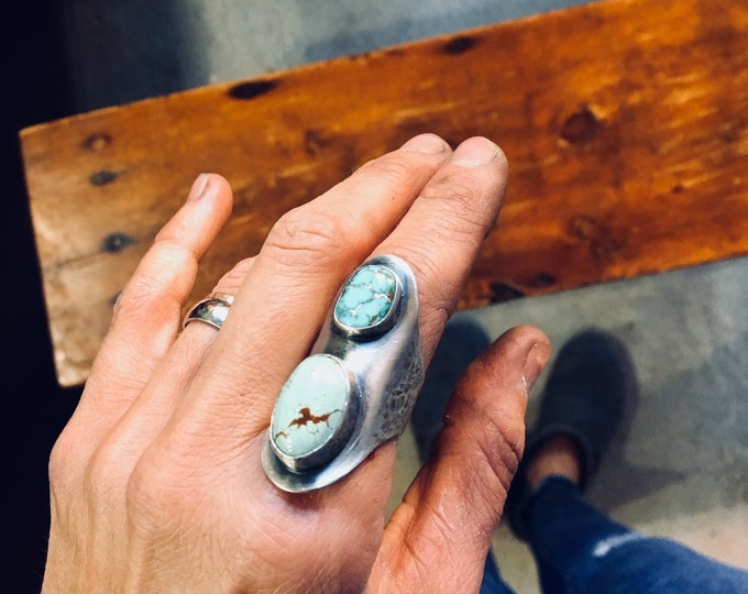 Saddle Turquoise Ring