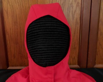 SALE Undermask Fencing Hood Gipsy Peddler SCA Rapier Armor Arming Cap