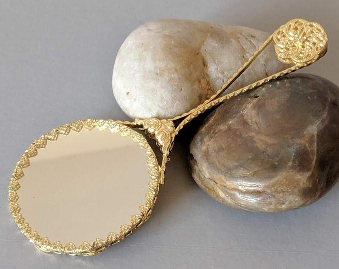 Filigree Girdle Mirror #1 - Elizabethan Renaissance