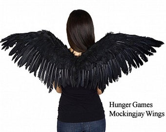 Black Mockingjay Wings Hunger Games - Mocking Bird Goose Feathers