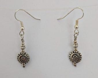 Anasazi Sacred Spiral Earrings - Evolution