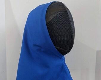 New Color! Overmask Fencing Hood - Gipsy Peddler Rapier Armor