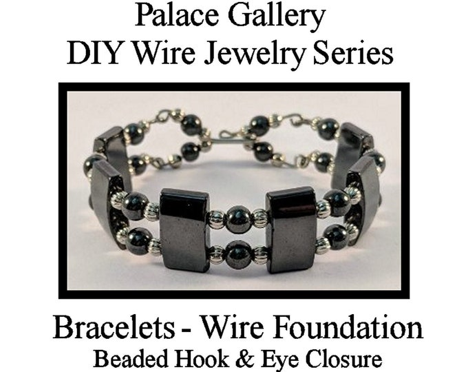 DIY Magnetic Hematite Wire Bracelet Kit -