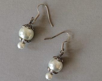 Pearl Earrings - Italian Renaissance - Elizabethan