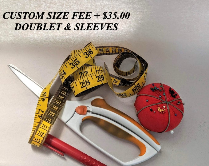 Extra Custom Fee - Doublet and Sleeves