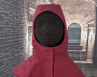 In Stock! 8 Colors - Undermask Fencing Hood - SCA Rapier Armor Coif