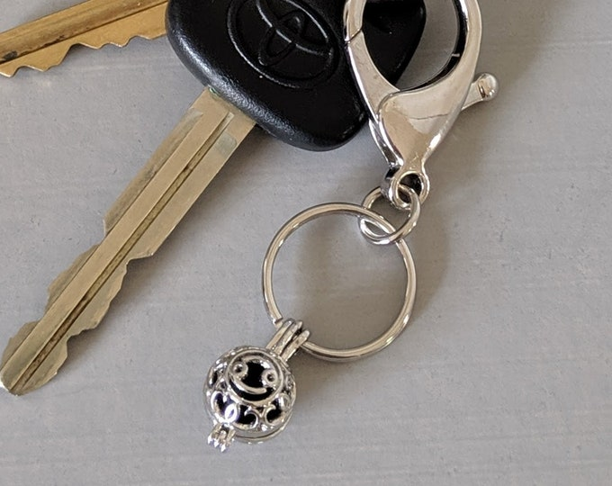 Zodiac Lobster Key Ring  - Astrology Aromatherapy Pendant - Prayer Box