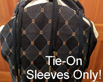 Weston Sleeves Only!  Tie-On - Rapier Armor - Court Clothing - Faire