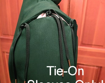 Basic Tie-On Sleeves Only!  Trigger Sports Cloth - Court Clothing - Faire