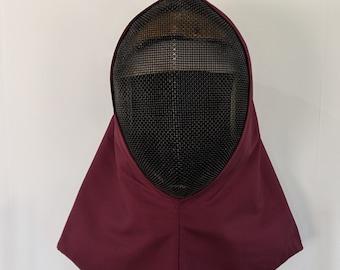 Overmask Fencing Hood - Gipsy Peddler SCA Rapier Armor Drape