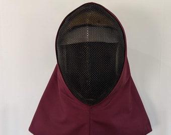 In Stock! Overmask Fencing Hood - Gipsy Peddler Rapier Armor