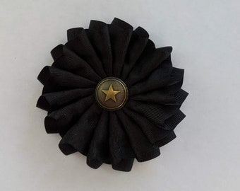 Soldier's Pleated Cockade - Revolutionary - Colonial America - Hanover England