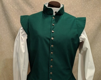 Ladies Basic Fencing Doublet - Gipsy Peddler SCA Rapier Armor