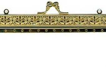 Filigree Metal Purse Frame - Renaissance Handbag - Victorian