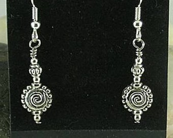 Anasazi Sacred Spiral Earrings - Evolution
