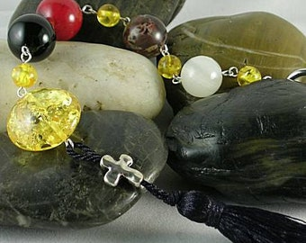 Knight's Paternoster - Rosary - Tenner - Psalter 15th c. Prayer Beads