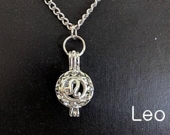 All Zodiac Pendant Necklaces - Astrology Aromatherapy Birthday