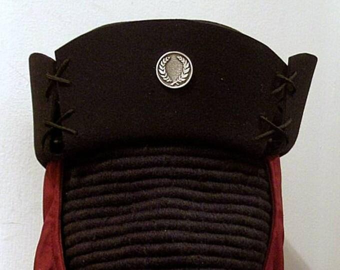 SCA Laurel Pelican - Felt Laced Hat - Gothic - Renaissance - 15th c.