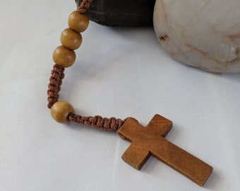 Wooden Dominican Standardized Rosary - 16th c thru Modern Prayer Beads