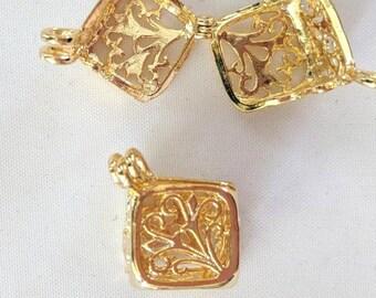 Pomanders - Prayer Box - Rosary Accessories #2 - Aromatherapy Pendants