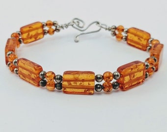 Amber Sunshine Bracelet - Great Mother - Egypt - Greek - Crete -