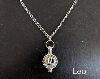 All Zodiac Pendant Necklaces - Astrology Aromatherapy Birthday