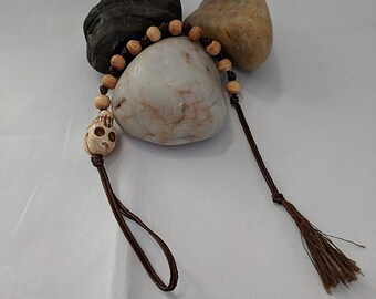 Bone Skull Paternoster Prayer Beads - Remember Death - Memento Mori
