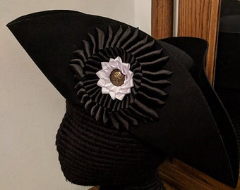 Yorktown Alliance Military Cockade Tricorn #2  American Revolutionary