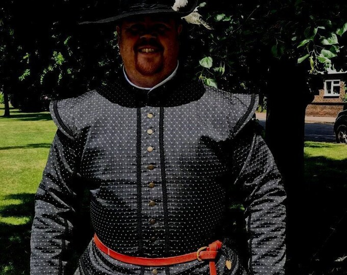 Sussex SCA Rapier Armor Outfit Fencing Doublet Trunkhose Gipsy Peddler