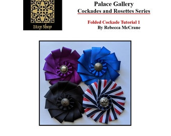 DIY Folded Cockade Tutorial - Cockade Pattern