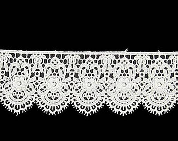 White or Ivory Venice Lace - Elizabethan Renaissance Fair - Victorian