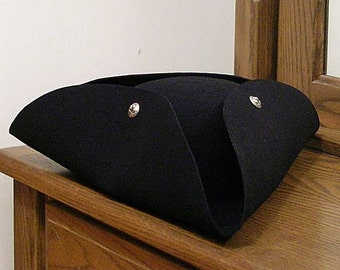 DISCONTINUED STYLE! 1 Left! French Fleur de Lis  Tricorn #1 - Cocked Hat - King Louis XIV - France