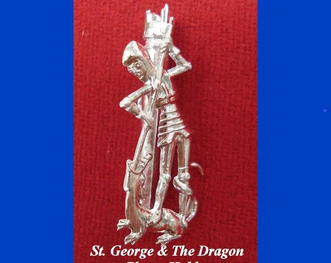 Saint George and Dragon Plume Holder - Feathers - Patron Saint England